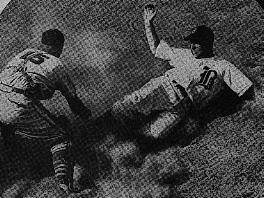 cover photo from 1945 Braves program